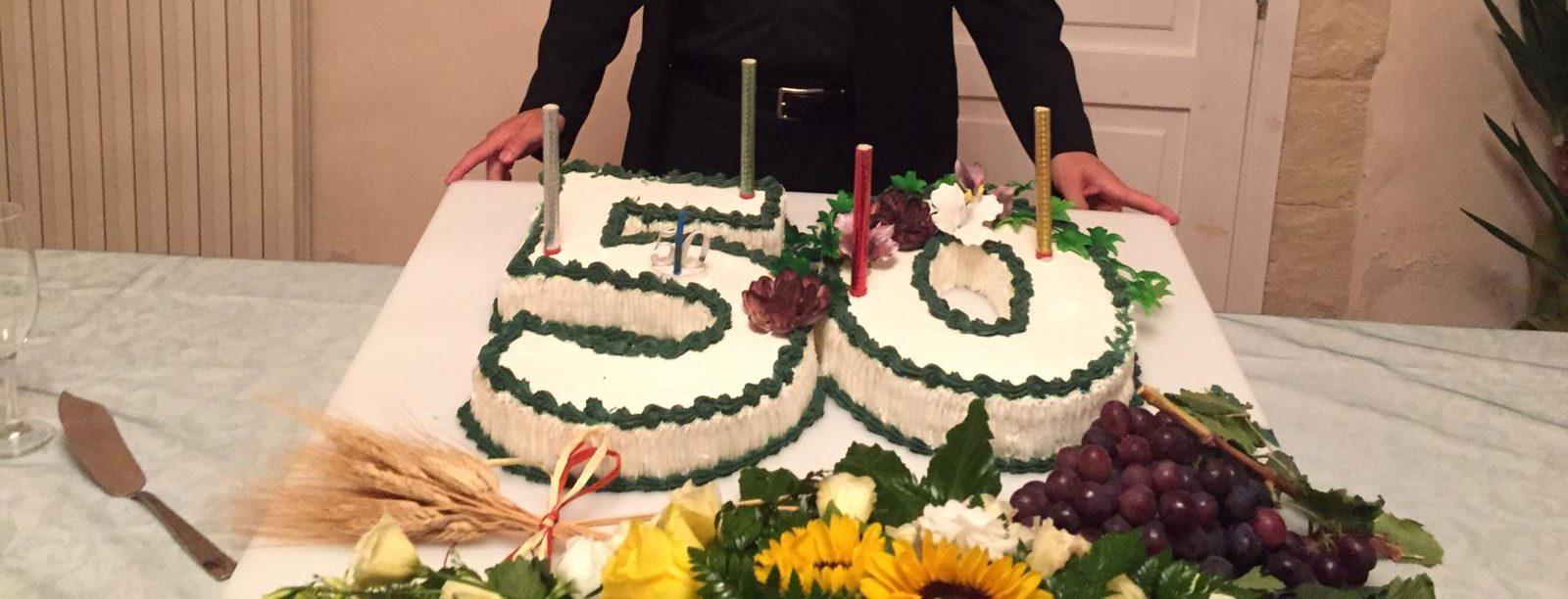 Festa al nostro Parroco don Sultana per i suoi 50 anni