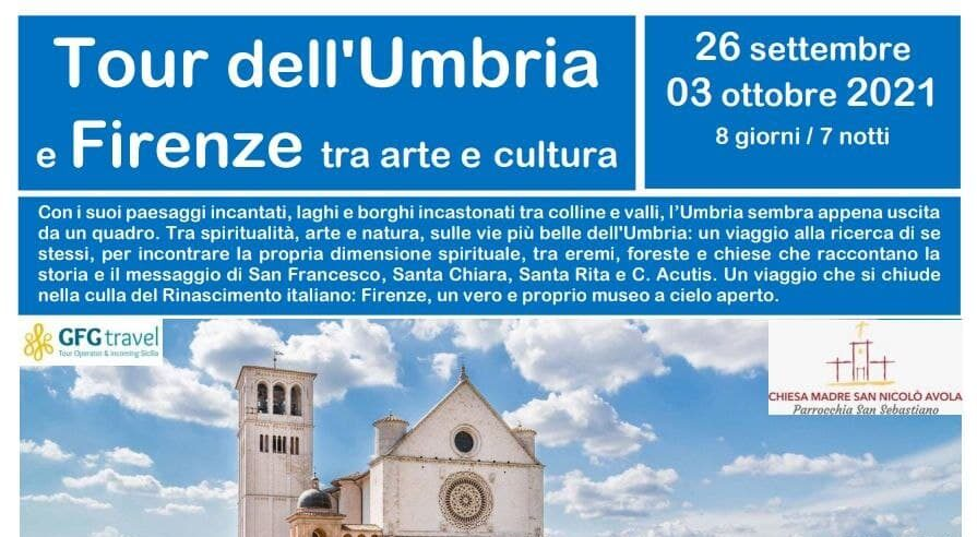 Pellegrinaggio sulle orme dei Santi Francesco, Chiara, Rita e Carlo Acutis. Tour dell'Umbria e Firenze tra arte e cultura